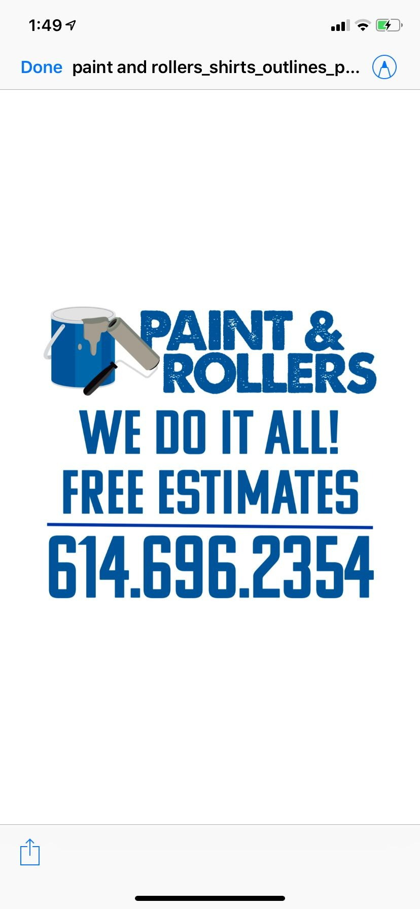 "Paint & Rollers ""Your Project, Our Legacy"""