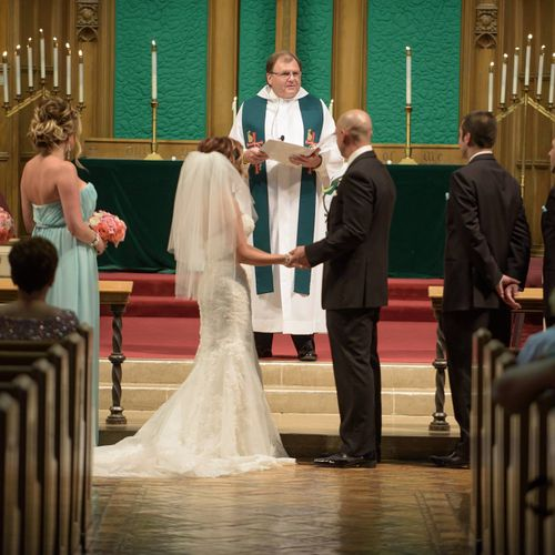 Presiding over my Daughter's Marriage