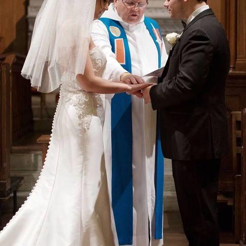 Presiding over my Son's Marriage