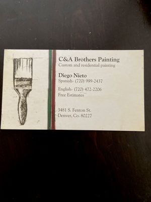 Avatar for C&A Brother Painting LLC Denver, CO Thumbtack