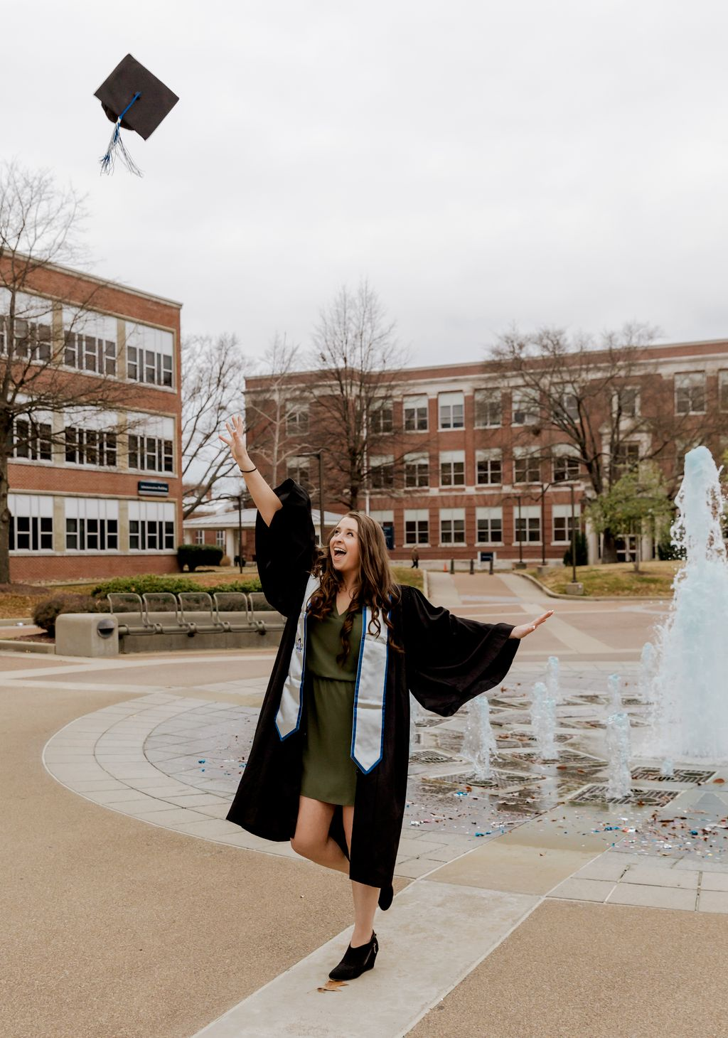 Hannah Graduated from College