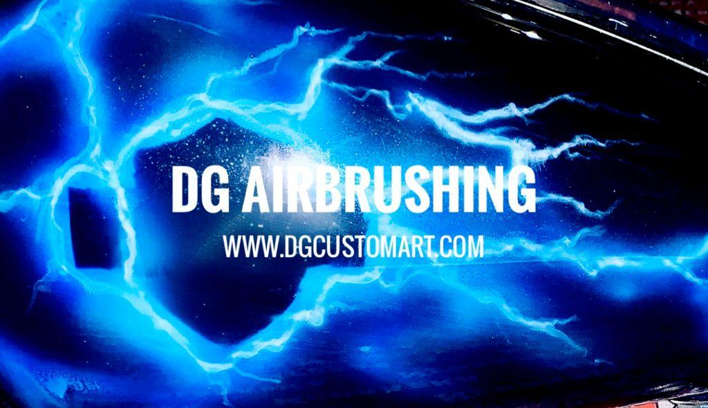 DG airbrushing