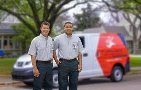 All techs come in uniform