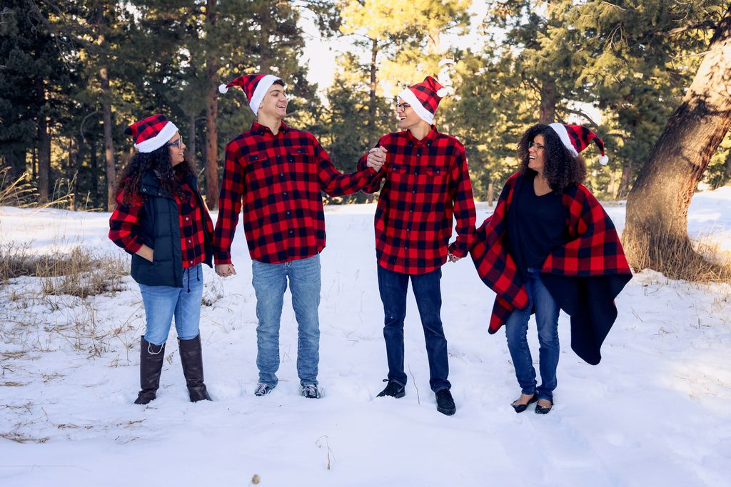 Winter Family Mini Session