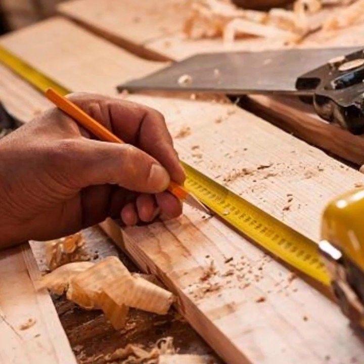 B & P Carpentry and Hardware.