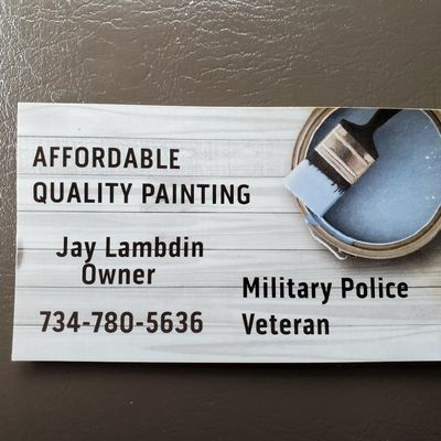Avatar for Affordable quality painting and drywall Livonia, MI Thumbtack