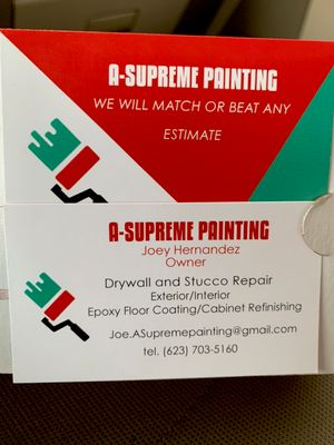Avatar for A-SUPREME PAINTING Phoenix, AZ Thumbtack