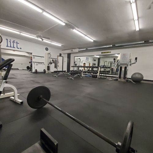 Free Weights and Platforms