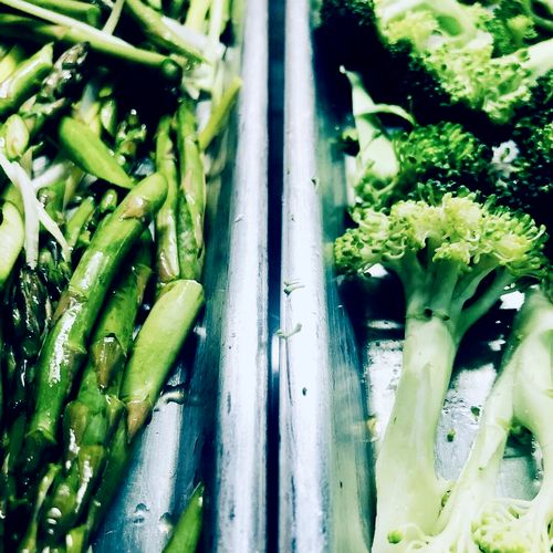 Delicious and Healthy Options! Lemon Roasted Asparagus and Parmesan Roasted Broccoli