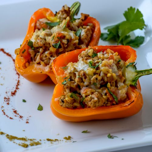 Weeknight Dinner options: South of the Border Stuffed Peppers
