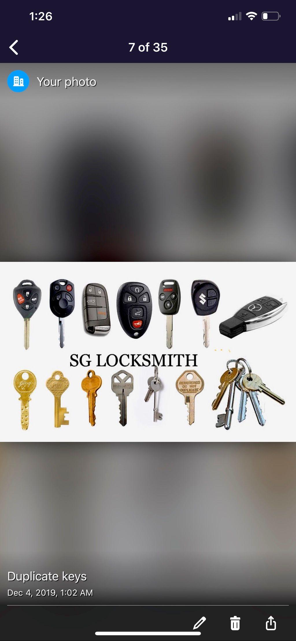 SG locksmith