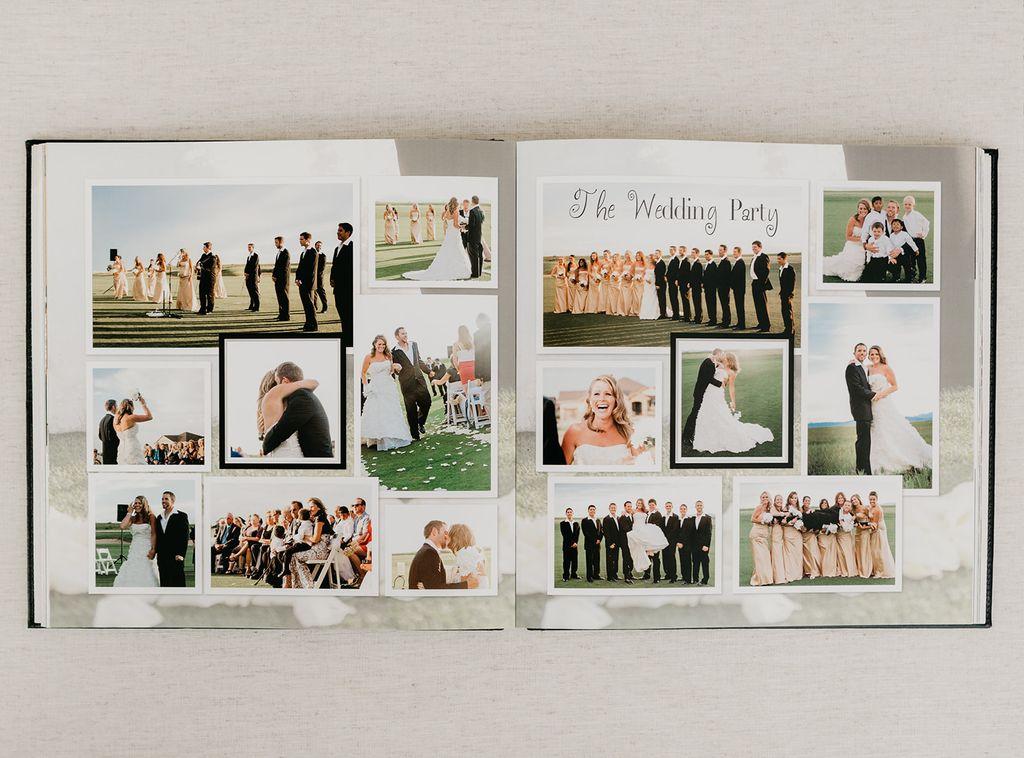 Wedding, engagement, honeymoon PhotoBook