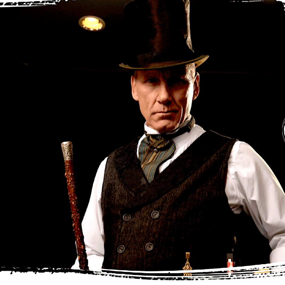 Magician Huckster, Western Style OR 1900's