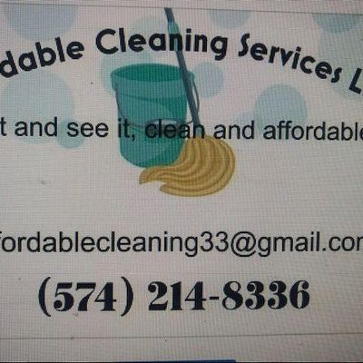 Avatar for Affordable Cleaning Services LLC Goshen, IN Thumbtack