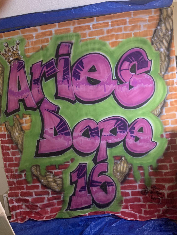 Aries Dope 16 Birthday Theme