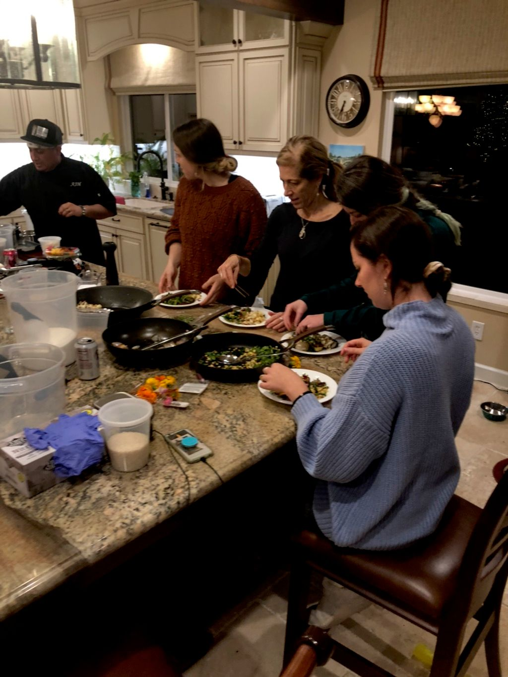 Private Cooking Lessons - Fair Oaks 2019