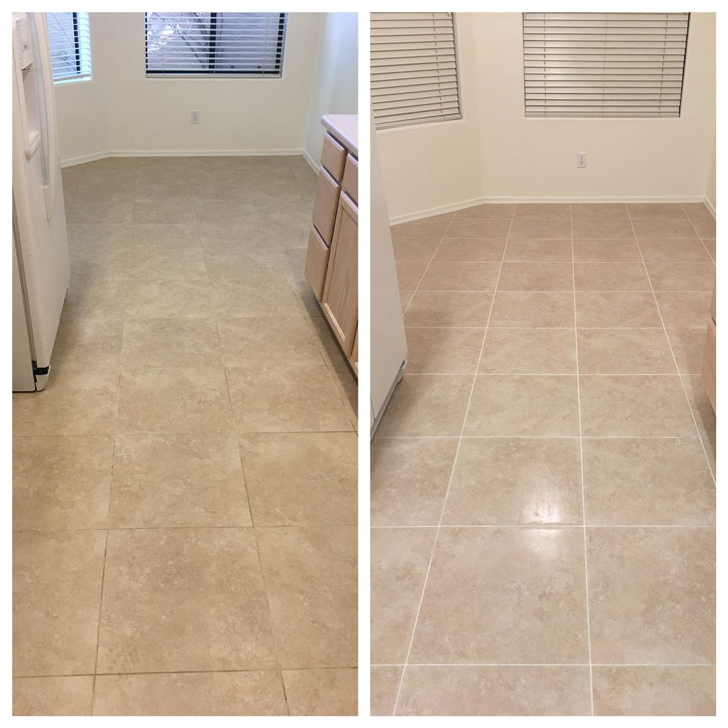 Tile and Grout Cleaning, Colorant, and Seal