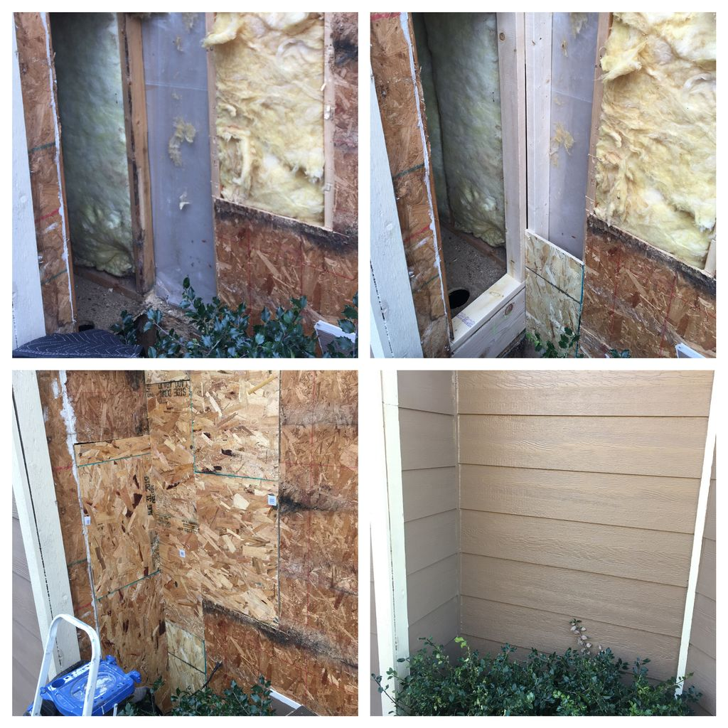Siding & Stud Replacement
