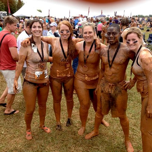 Had an amazing time at the Warrior Dash Obstacle Race with these ladies