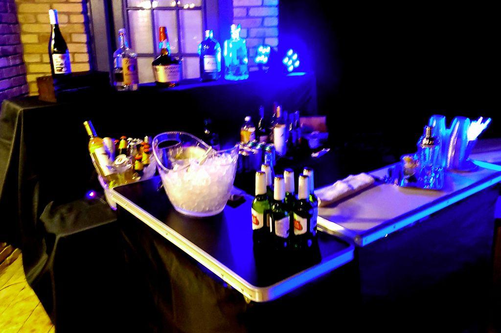 Portable bar and lounge