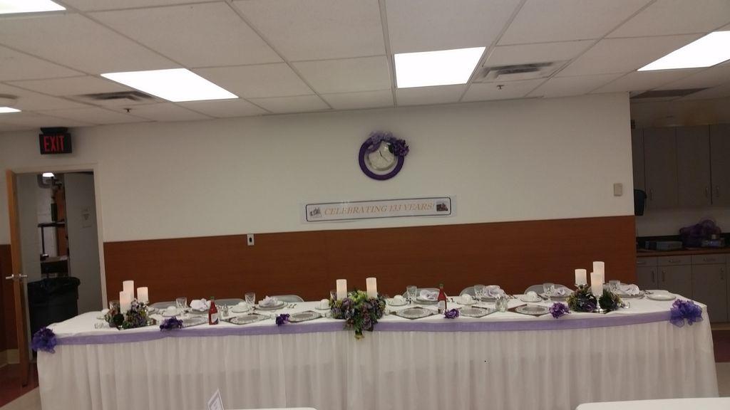 133rd Church Anniversary Reception
