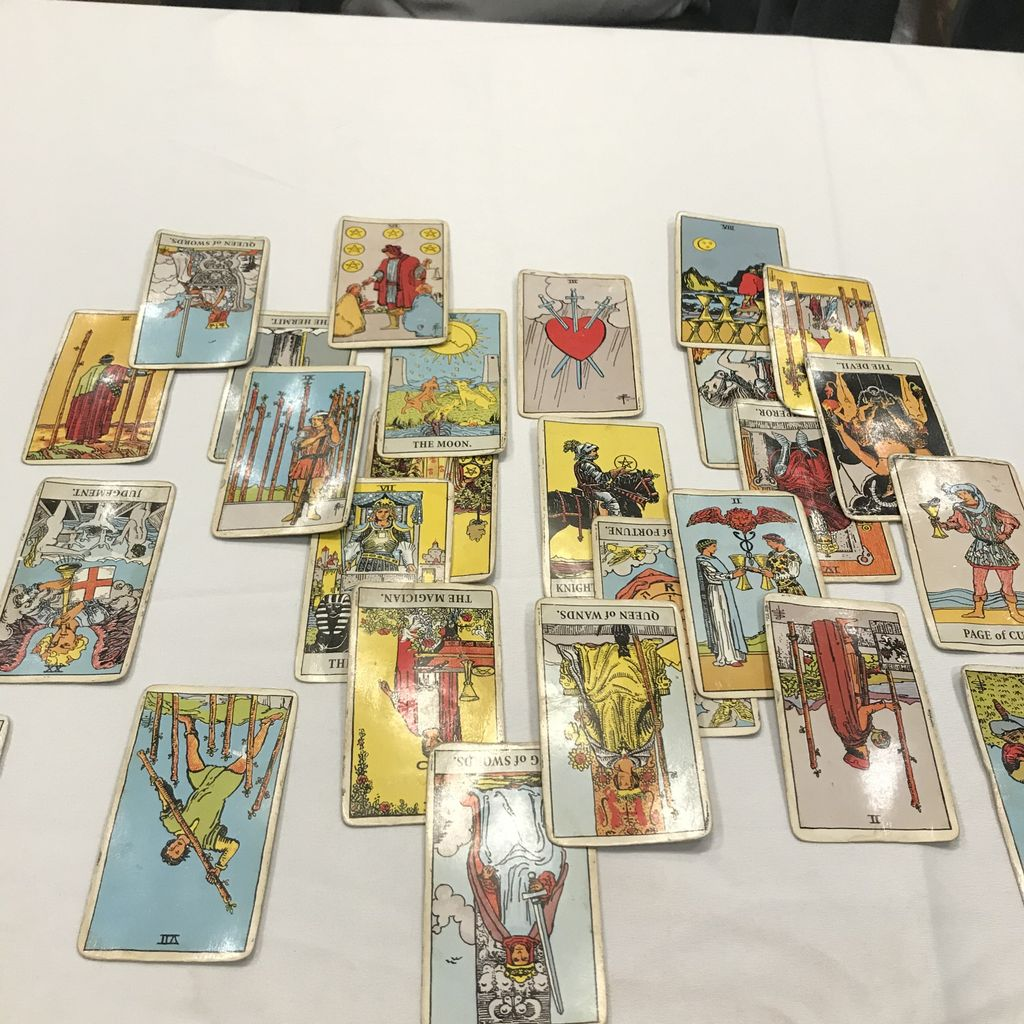 Tarot Card Readings at New Years Eve Party