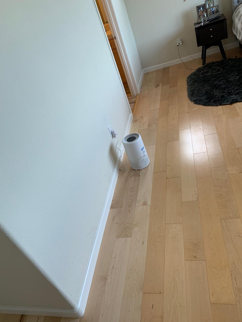 Floor reinstallation after water damage