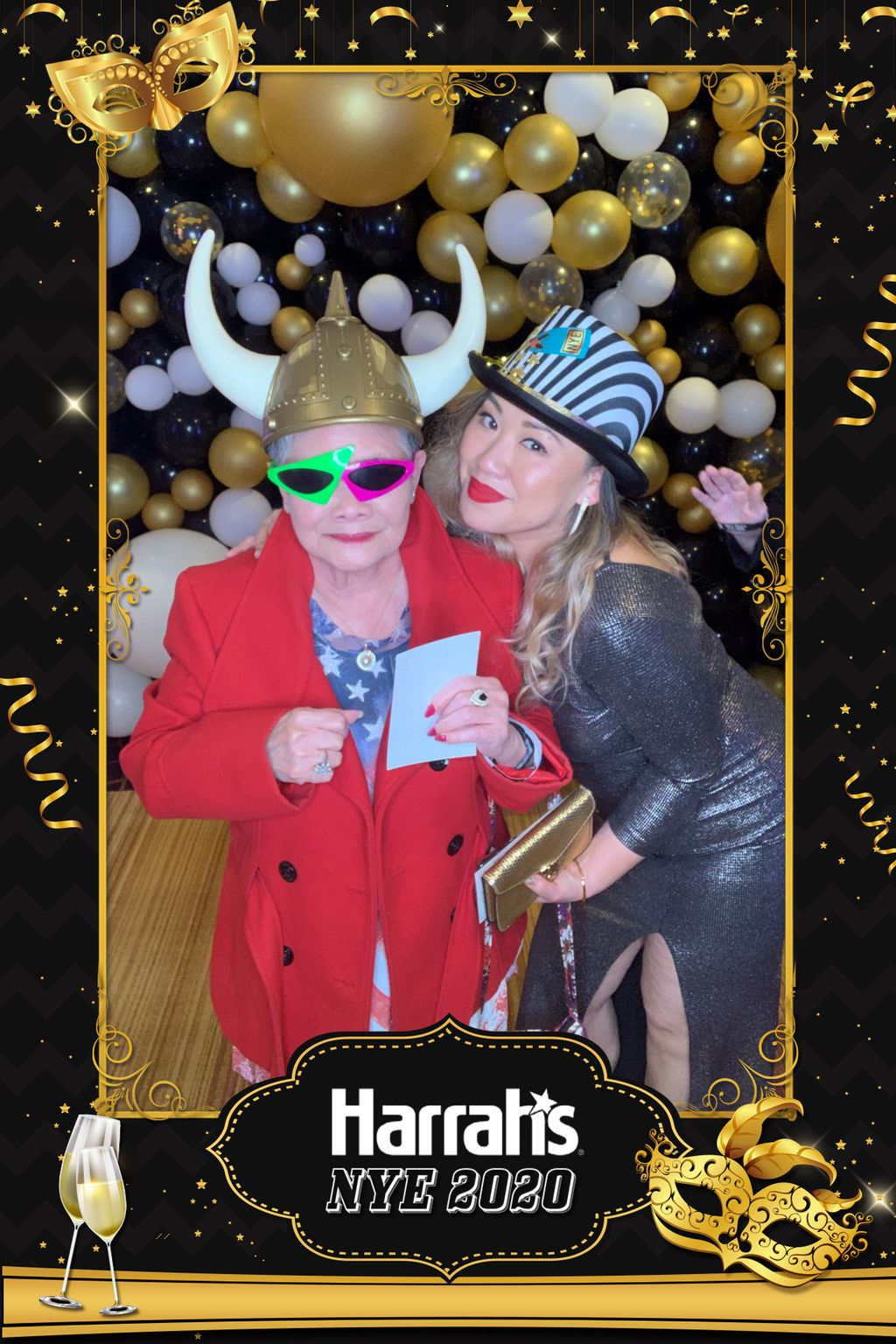 Harrah's New Years Eve