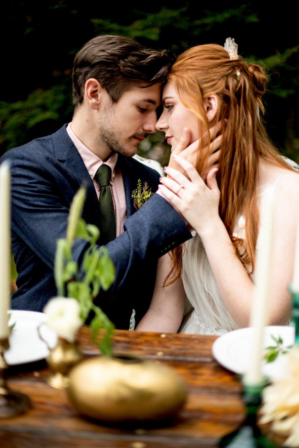 Junebug Styled Wedding Shoot