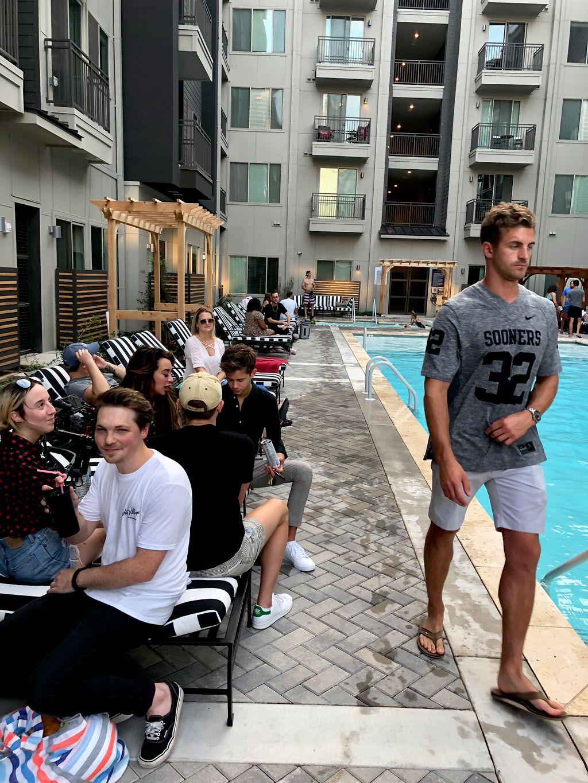 Pool Party Birthday Company Party