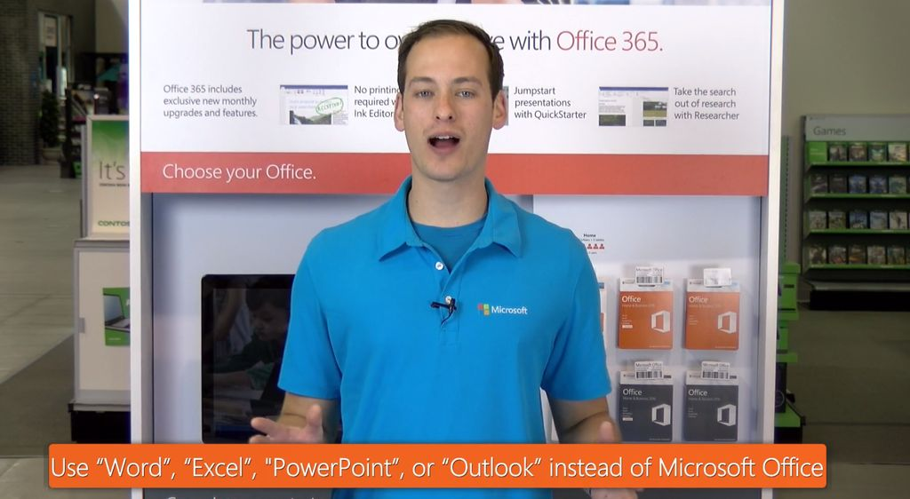 Sales Training for Microsoft