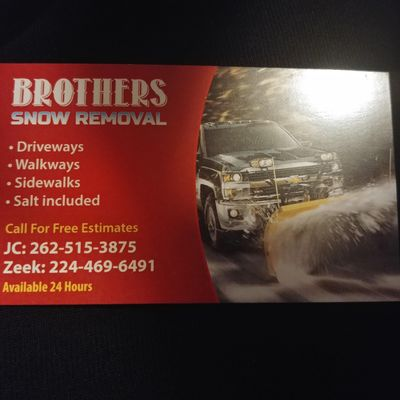 Avatar for Brothers Snow Removal
