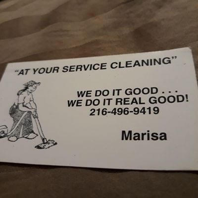 Avatar for At Your Service Cleaning Maple Heights, OH Thumbtack