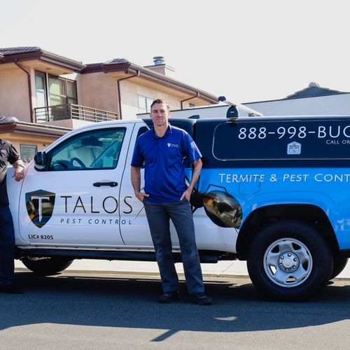 Two of the Talos team