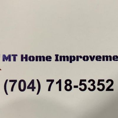 Avatar for MT Home Improvements INC Lincolnton, NC Thumbtack
