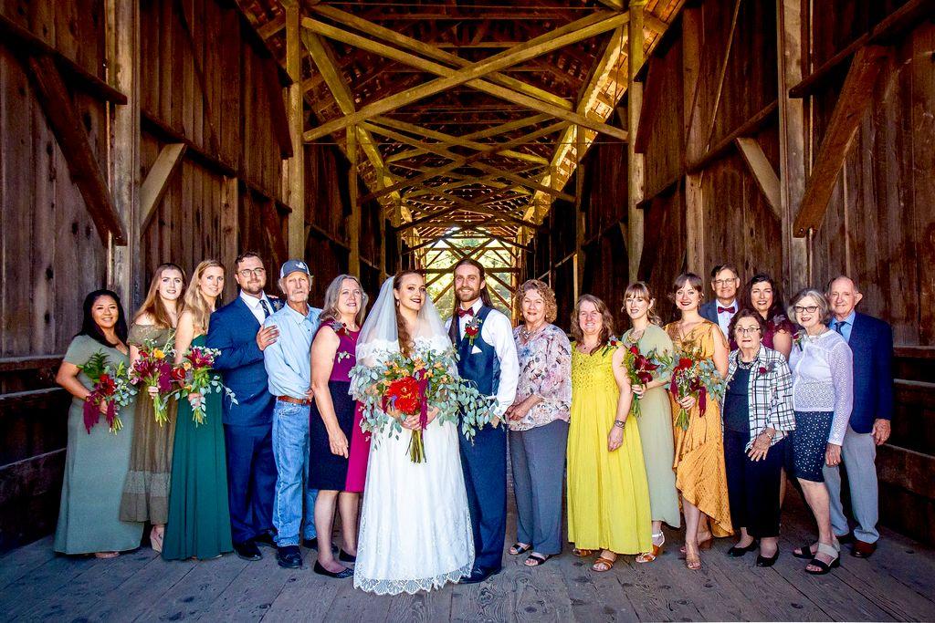 Small Barnyard Wedding