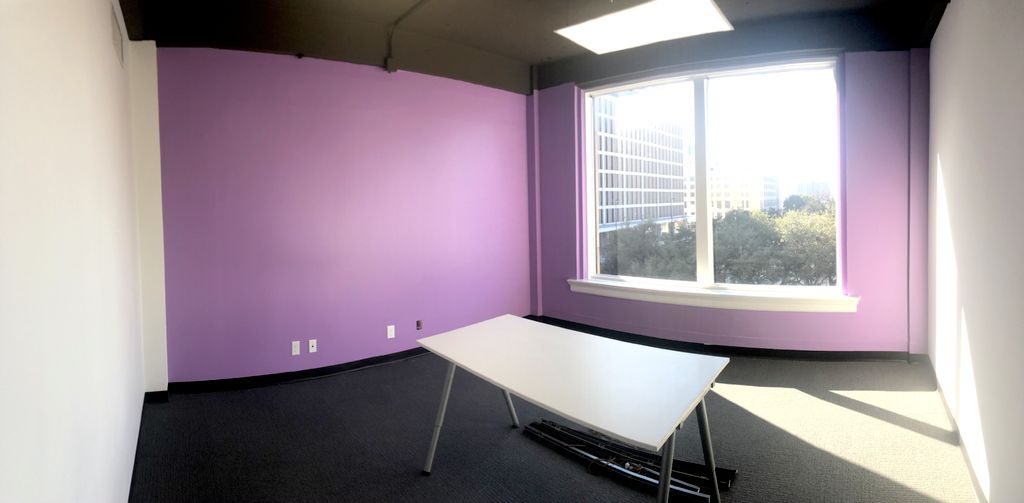 Downtown office paint