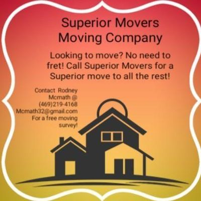 Avatar for Superior Moving Fleet Dallas, TX Thumbtack