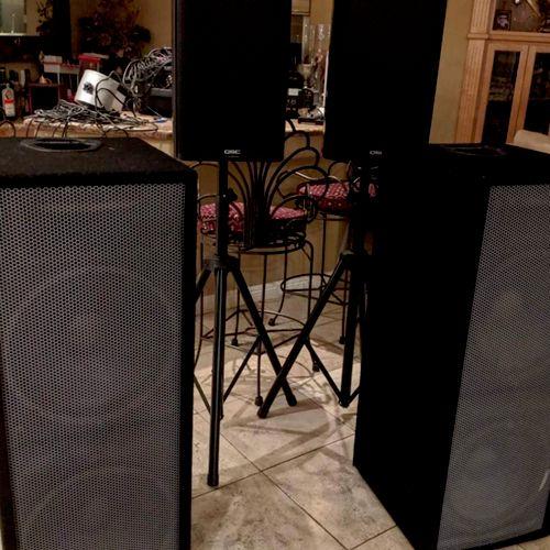 Premium Club Speakers