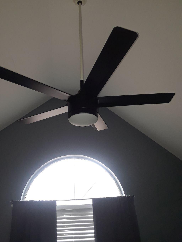 Ceiling fan retrofit