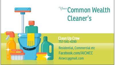 Avatar for Common Wealth Cleaner's Virginia Beach, VA Thumbtack