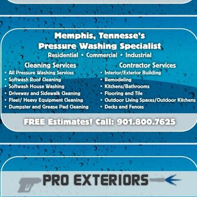 Avatar for Pro Exteriors Pressure Washing and Services LLC