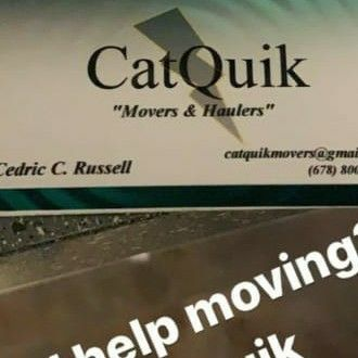 "Avatar for CatQuik ""High Efficiency Movers and Haulers"" Decatur, GA Thumbtack"