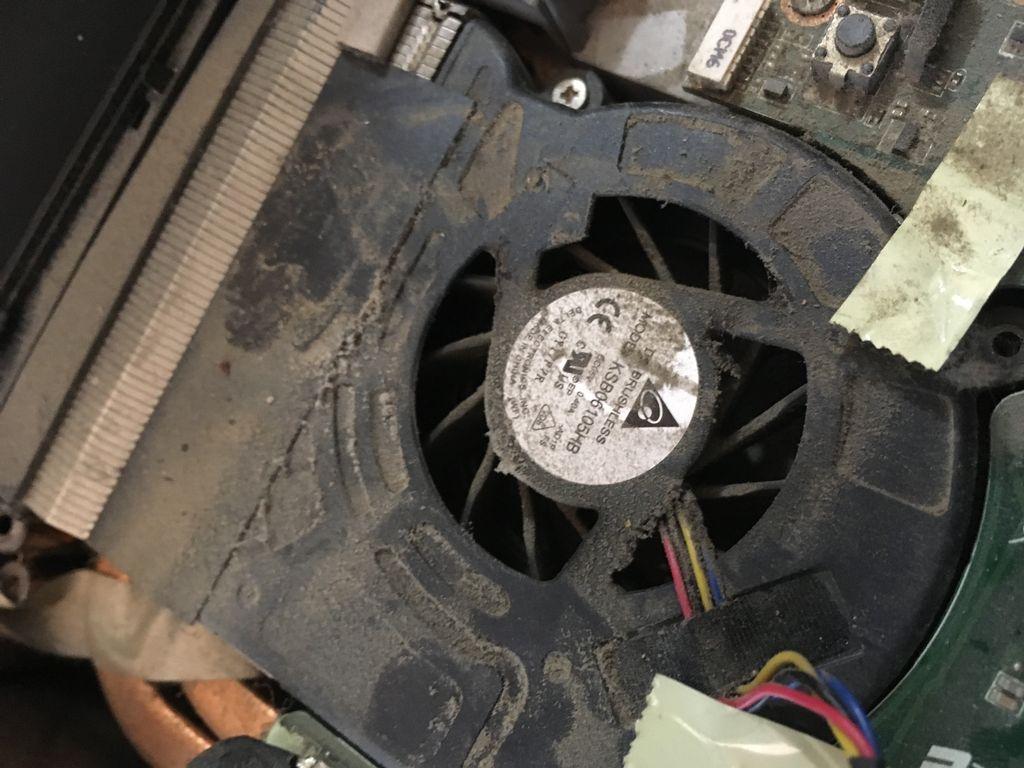 Laptop cooling maintenance