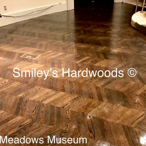 SMU Meadows Museum Refinish