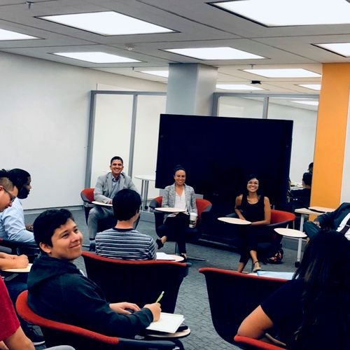 Panel Discussion with the Engineering Students at CSULA