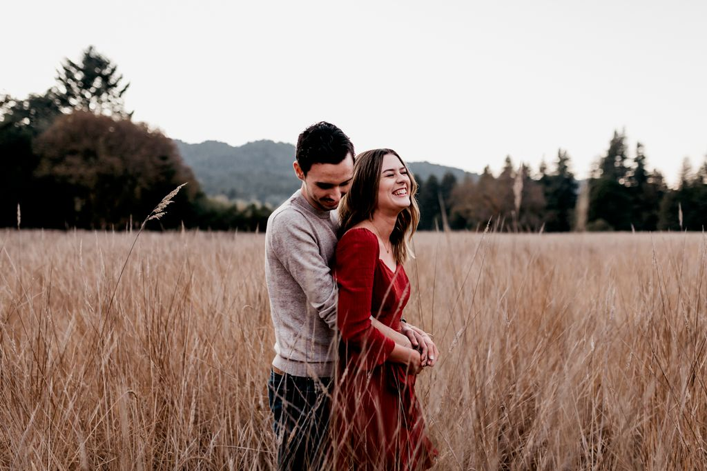 Engagement Photography - Redwoods State Park