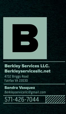Avatar for Berkley Service LLC Fairfax, VA Thumbtack