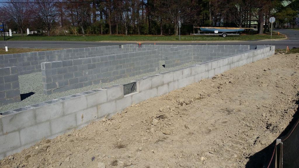 Foundations, concrete