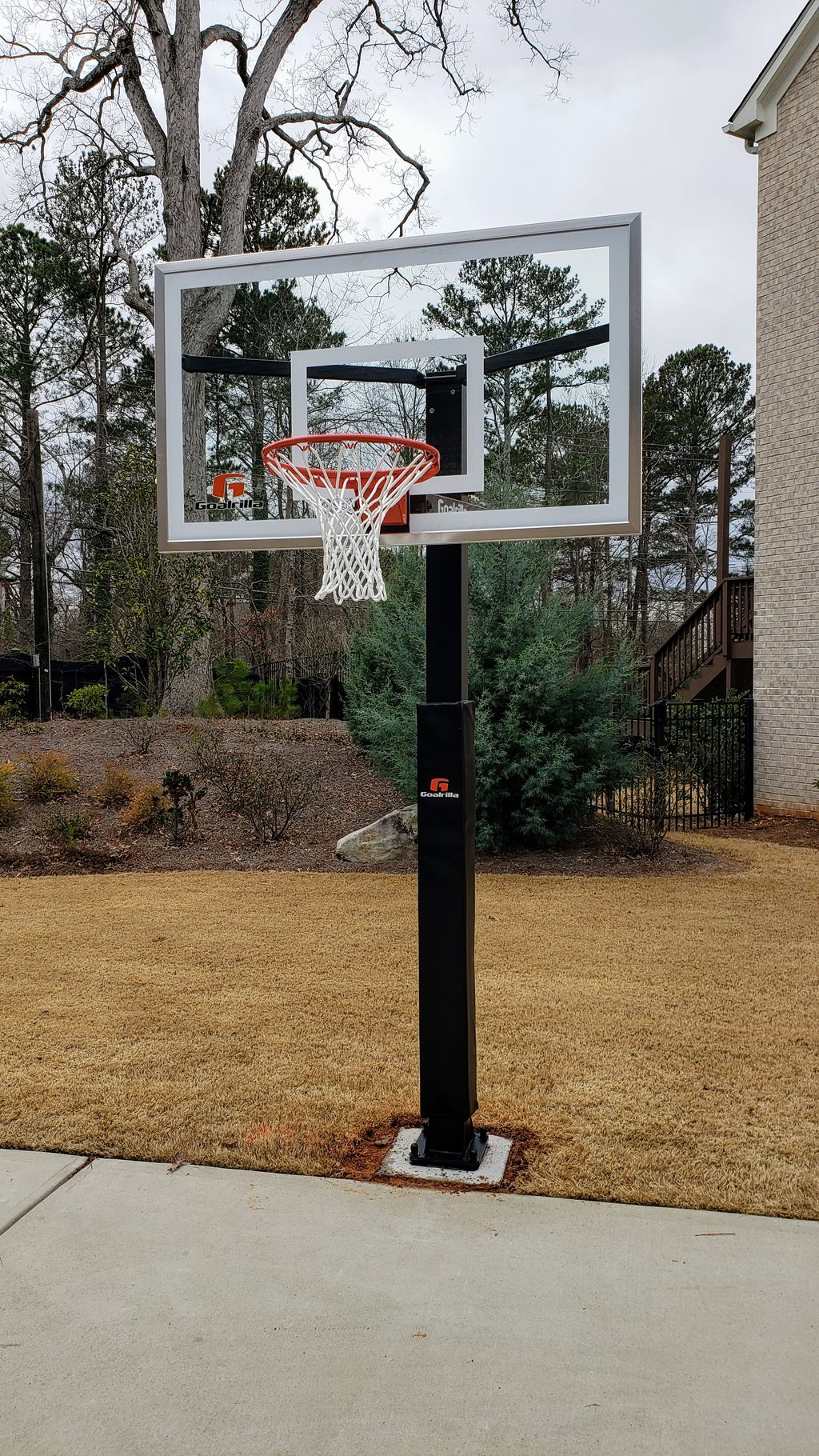 In Ground basketball goal